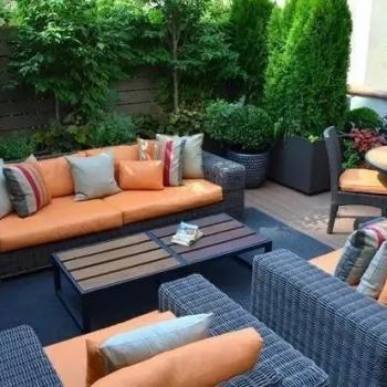 如果我有个花园,我一定要买这样的家具