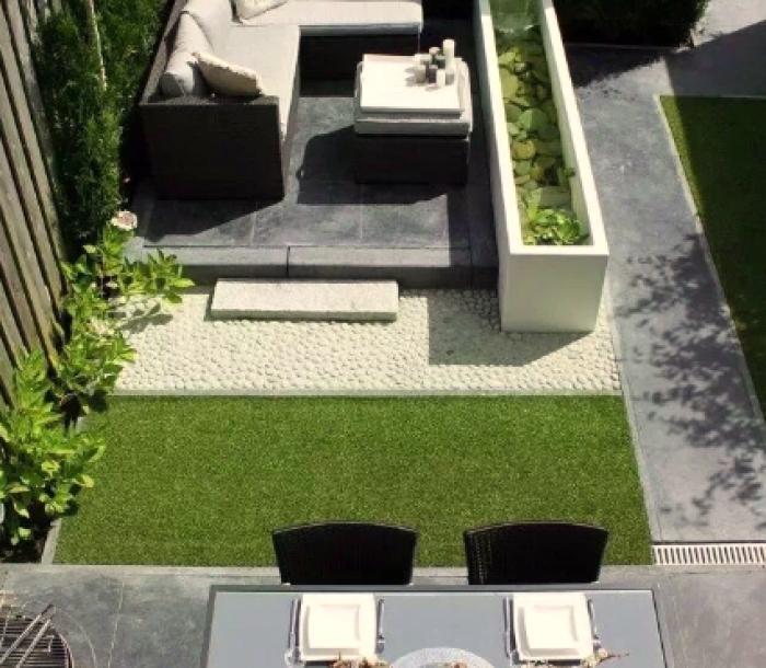 屋顶花园家具素材01