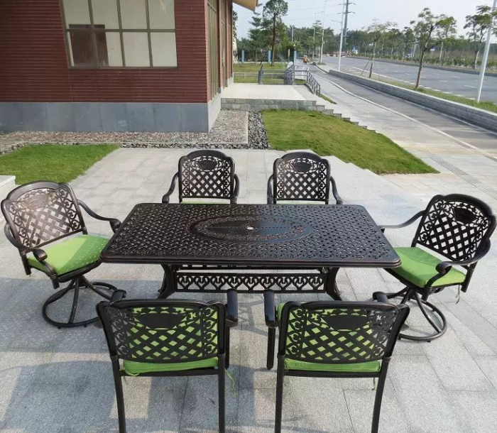 铸铝桌椅 FCO-CAO021