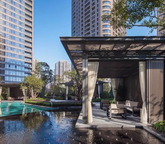 上海融创滨江壹号院-户外家具项目