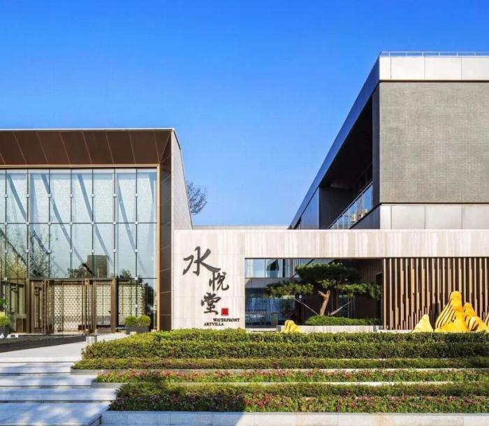 上海绿地水悦堂-上海户外家具项目